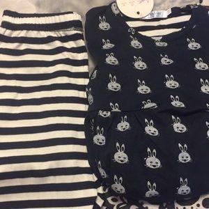 Girl clothing set
